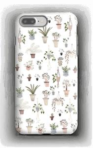 Ruukkukasvit kuoret IPhone 7 Plus tough