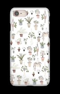 Ruukkukasvit kuoret IPhone 8