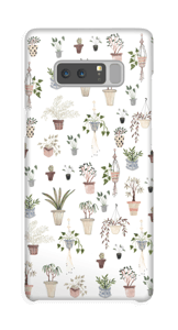House plants case Galaxy Note8