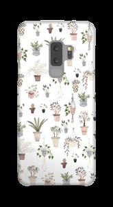 House plants case Galaxy S9 Plus