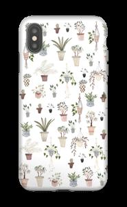 House plants case IPhone XS Max tough