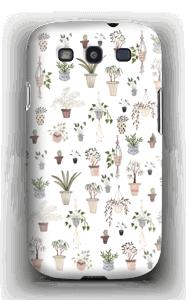 Ruukkukasvit kuoret Galaxy S3
