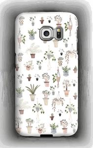 Ruukkukasvit kuoret Galaxy S6 Edge