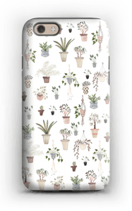 House plants case IPhone 6s tough
