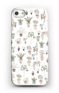 House plants case IPhone SE