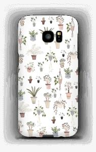 House plants case Galaxy S7 Edge