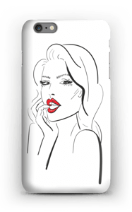 Red lips case IPhone 6s Plus