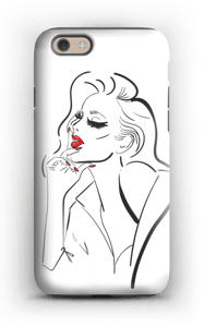 Fashion deksel IPhone 6s tough