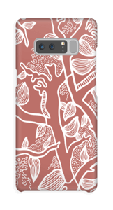 Brown Nature case Galaxy Note8