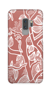 Brown Nature case Galaxy S9 Plus