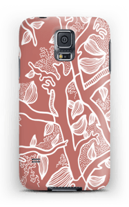 Brown Nature case Galaxy S5