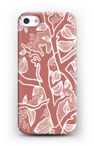 Brown Nature case IPhone SE