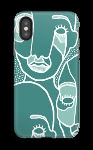En i mængden cover IPhone X tough