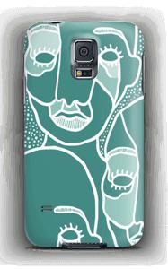 Yksi muiden joukossa kuoret Galaxy S5