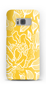 Yellow Flowers case Galaxy S8