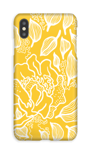 Yellow Flowers case IPhone XS Max