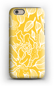 Yellow Flowers case IPhone 6 tough