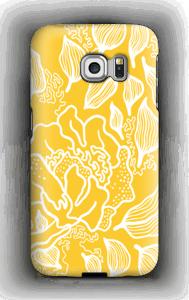 Yellow Flowers case Galaxy S6 Edge