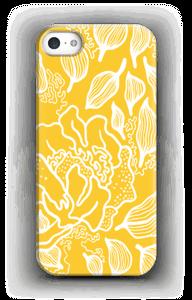 Yellow Flowers case IPhone SE