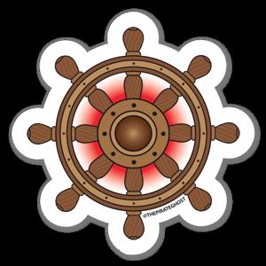 Windward Tides, Wayward Sails sticker