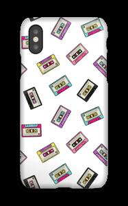 Cassettebandjes hoesje IPhone X
