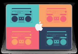 """Boombox World Skin MacBook Pro Retina 13"""" 2015"""