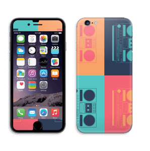 Boombox World  Skin IPhone 6/6s
