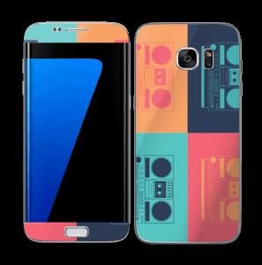 Boombox World Skin Galaxy S7 Edge
