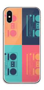 Boombox World  Skin IPhone X
