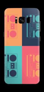Radiocasete Vinilo  Galaxy S8