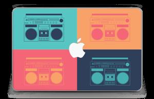 "Boombox World  Skin MacBook Air 11"""