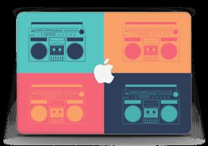 "Boombox World  Skin MacBook Air 13"""