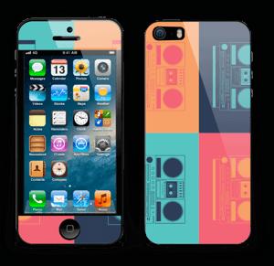 Boombox World  Skin IPhone 5s