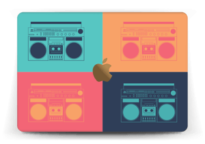 "Boombox World Skin MacBook 12"""