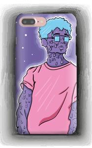 Melting guy blue  deksel IPhone 7 Plus