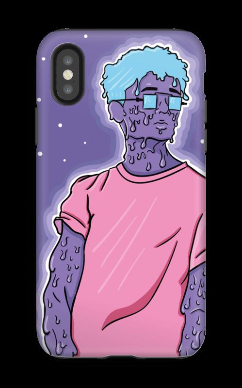 Melting guy blue  kuoret IPhone X tough