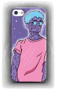 Melting guy blue  deksel IPhone 5/5S