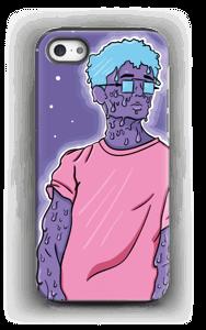 Melting guy blue  deksel IPhone 5/5s tough