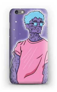 Melting guy blue skal IPhone 6s Plus