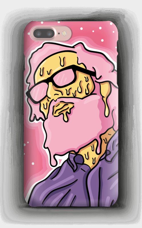 Melting guy pink deksel IPhone 7 Plus