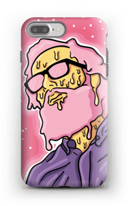 Melting guy pink deksel IPhone 7 Plus tough