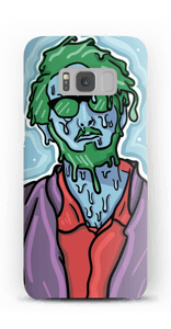 Melting guy grøn cover Galaxy S8