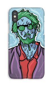 Melting guy green deksel IPhone XS