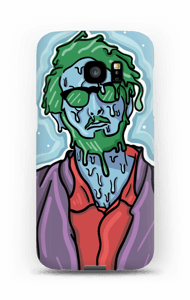Green Melting Guy  case Galaxy S7 Edge