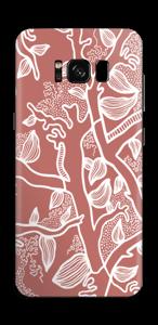 Brown Nature Skin Galaxy S8