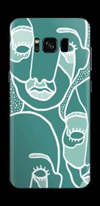 Multitud Vinilo  Galaxy S8