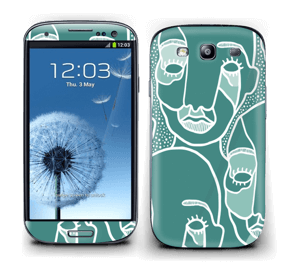 Follow the Crowd Skin Galaxy S3