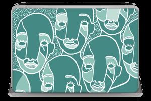 Follow the Crowd Skin Laptop 15.6