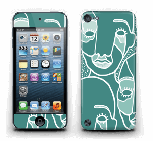 Follow the Crowd Skin IPod Touch 5th Gen