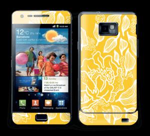 Yellow Flowers  Skin Galaxy S2